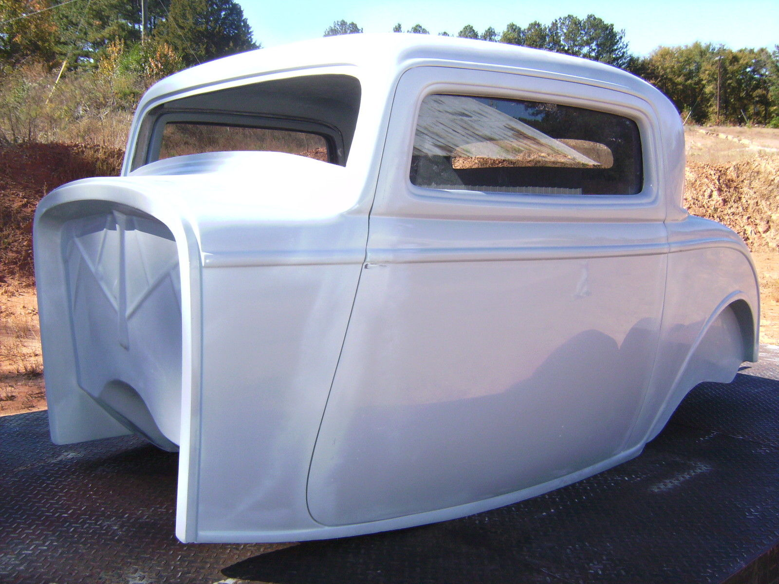 1932 ford three window coupe fiberglass new body with new interior classic ford other 1932 for. Black Bedroom Furniture Sets. Home Design Ideas