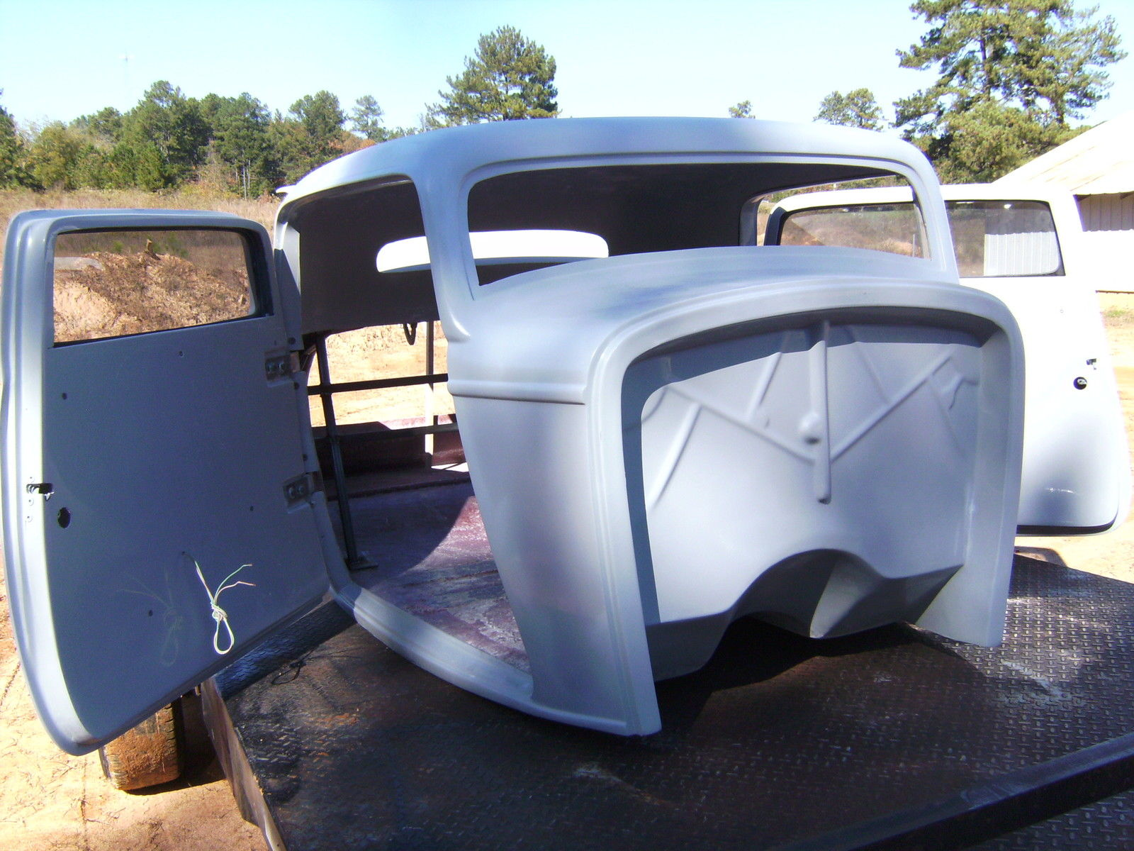 1932 ford three window coupe fiberglass new body with new interior ...
