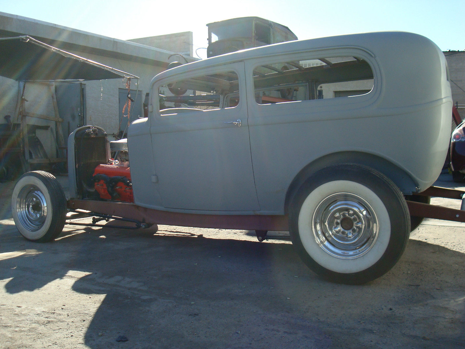 1932 Ford Tudor Sedan Hot Rod Chopped Rat Rod Scta