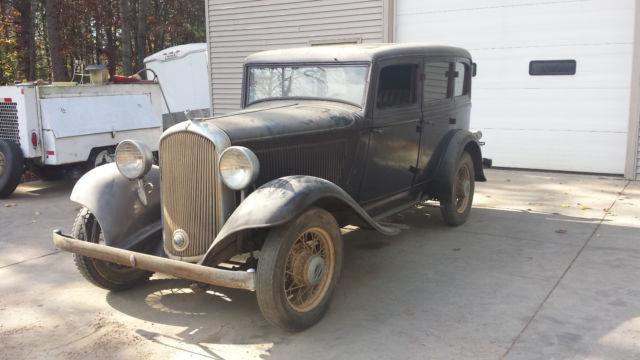 Does Gas Go Bad >> 1932 Plymouth PB 4 dr sedan, suicide doors, hot rod street mopar rat barn find - Classic ...