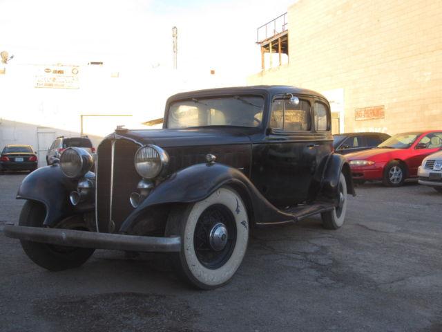 1933 BUICK SERIES 60 MODEL 67 CUSTOM SEDAN - 180972