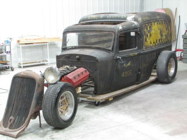 1933 Dodge Humpback Sedan Delivery Hemi Hot Rod Rat Rod