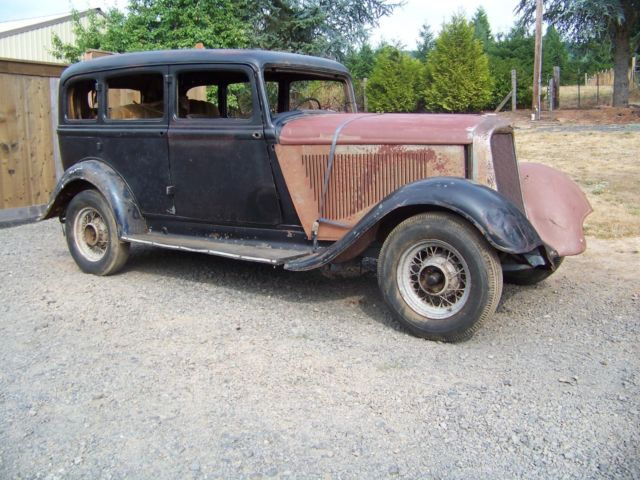1933 dodge six series 4dr sedan project very solid desert for 1933 dodge 4 door