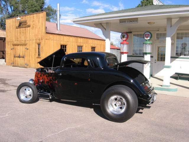 1933 Ford 3 Window Coupe Original Steel Body Classic