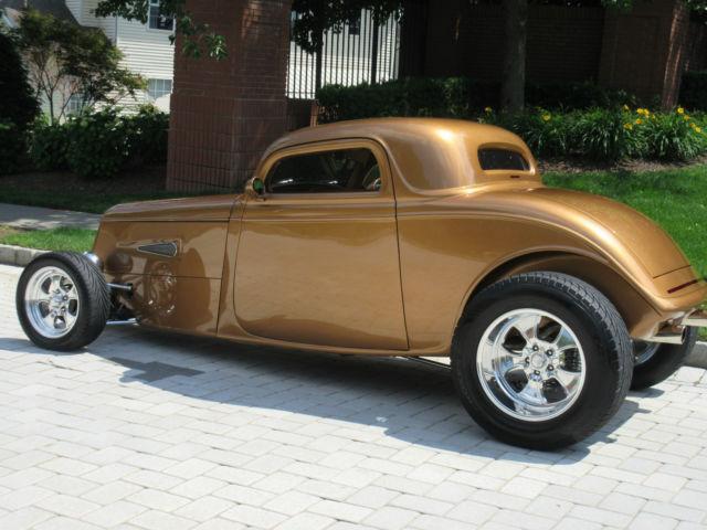 1933 Ford 3 Window Coupe Street Rod Hi Boy 32 34 35 37