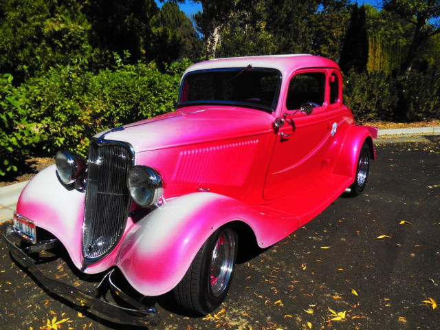 Incredible 1933 Ford 5 Window Coup Pink Lady Classic Ford Other Spiritservingveterans Wood Chair Design Ideas Spiritservingveteransorg