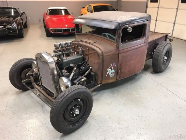 1933 Ford Pickup Truck Traditional Hot Rod Old School Rat