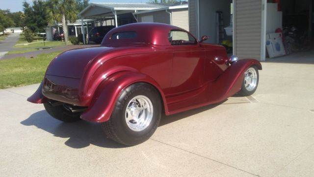 1933 Ford Roadster Street Rod Hot Rod Custom Car Classic