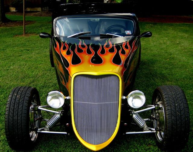 1933 Ford Speedstar Rats Glass Body Custom Built Street