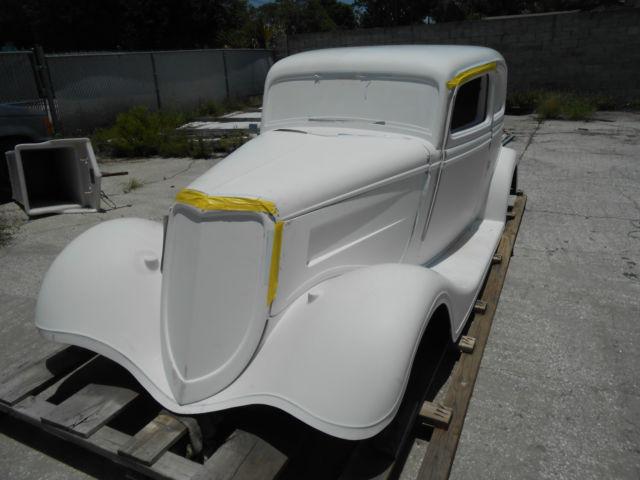 1933 Ford Vicky Hot Rod Rat Rod Project F G Body No