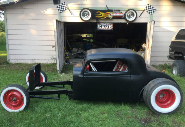 1933 olds custom three window coupe rat street hot rod for 1933 chevy 3 window coupe for sale