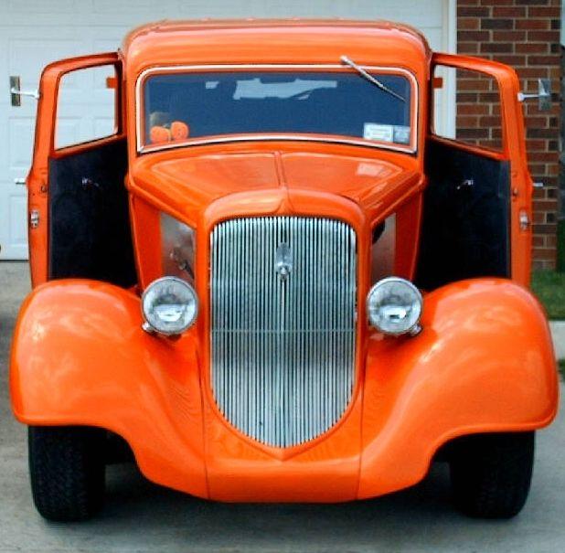 1934 34 Plymouth 2 Door Sedan Street Rod Hot Rod Streetrod