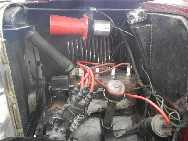 1934 american motors austin bantam 2421 miles maroon 3 for Motor mile austin texas