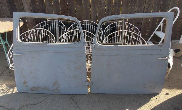 1934 CHEVROLET 2 DOOR SEDAN, all steel body & fenders