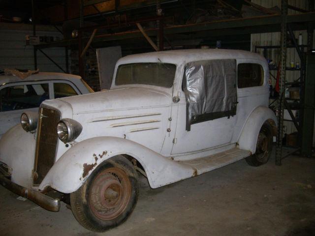 1934 Chevrolet Chevy 2 Door Master Sedan Original Street