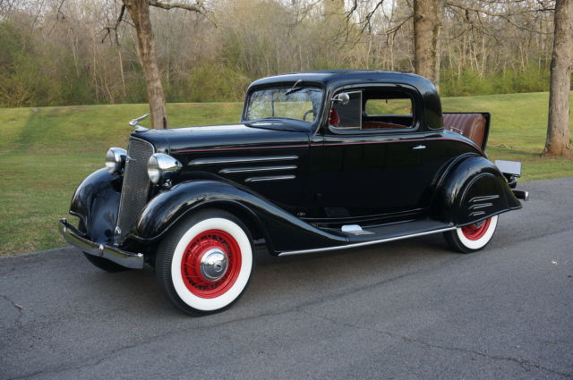 1934 chevrolet master 3 window coupe all steel original for 1934 chevy 5 window coupe