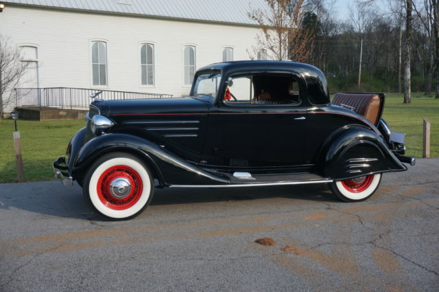 1934 Chevrolet Master 3 Window Coupe All Steel Original