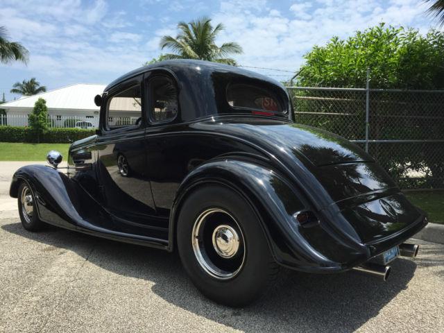 1934 Chevrolet Master 5 Window Coupe Street Rod 383
