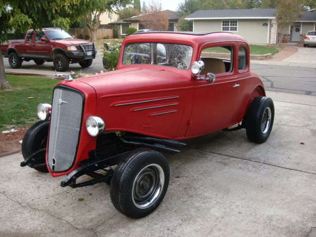 1934 Chevrolet Master Coupe 5 window 5w 34 Chevy hot rod rat