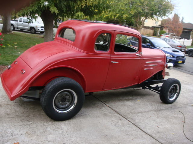 1934 Chevrolet Master Coupe 5 Window 5w 34 Chevy Hot Rod