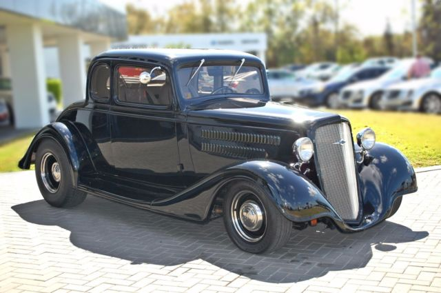 1934 Chevrolet Master Five Window Coupe - Classic Chevrolet Master