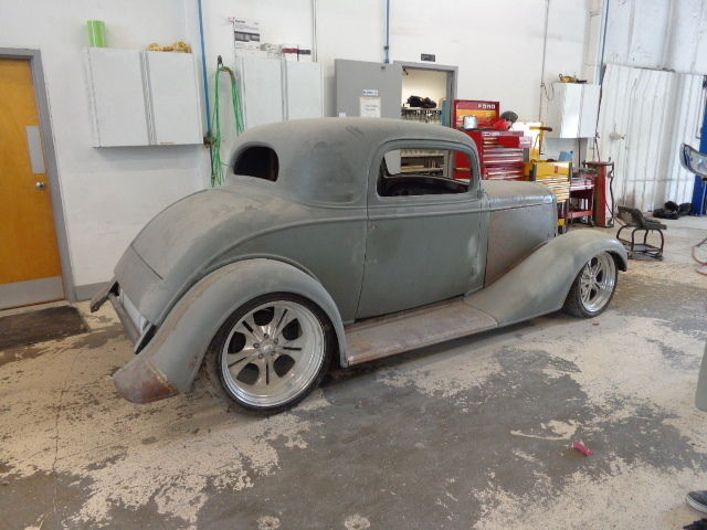 1934 Chevy 3 window coupe steel hot rod - Classic Chevrolet Other