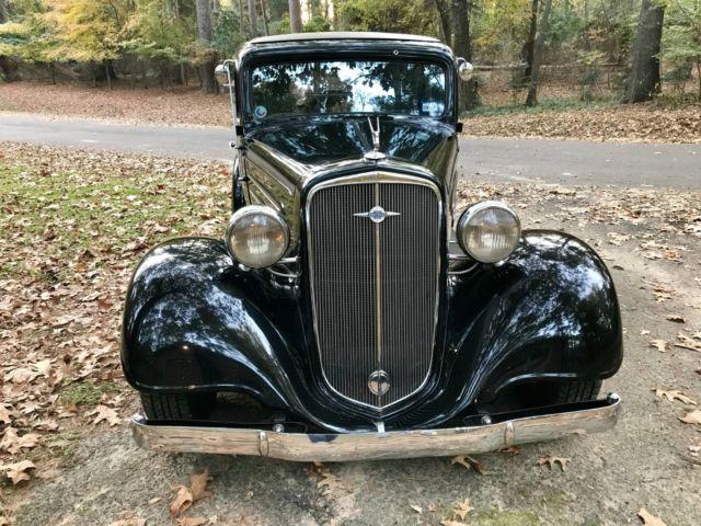 1934 Chevy Master 4 Door Sedan Street Rod Classic