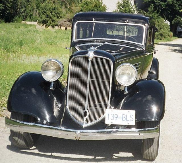 1934 Chrysler CA Four Door Sedan