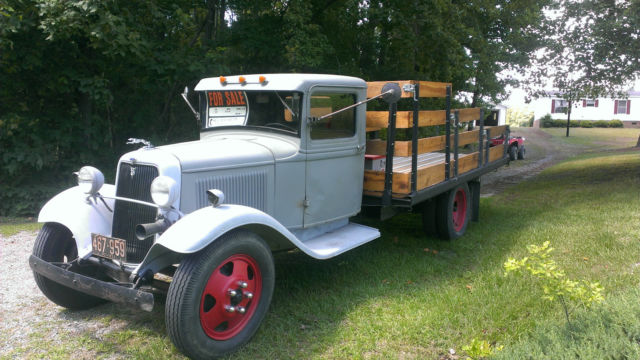 1934 Ford 1 1 2 Ton Flatbed Truck Classic Ford Other