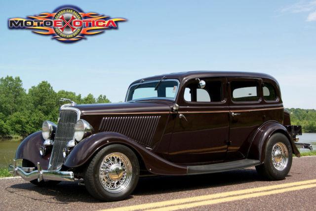 1934 ford 4 door sedan street rod 350 cid chevy all steel for 1934 ford door
