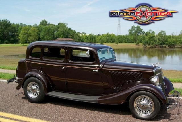 1934 ford 4 door sedan street rod 350 cid chevy all steel for 1934 ford 4 door for sale