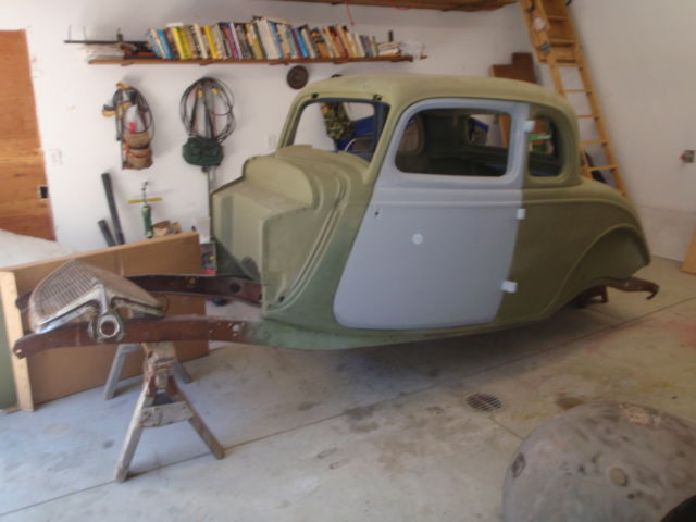 1934 Ford 5 Window Coupe Perfect All Steel Project