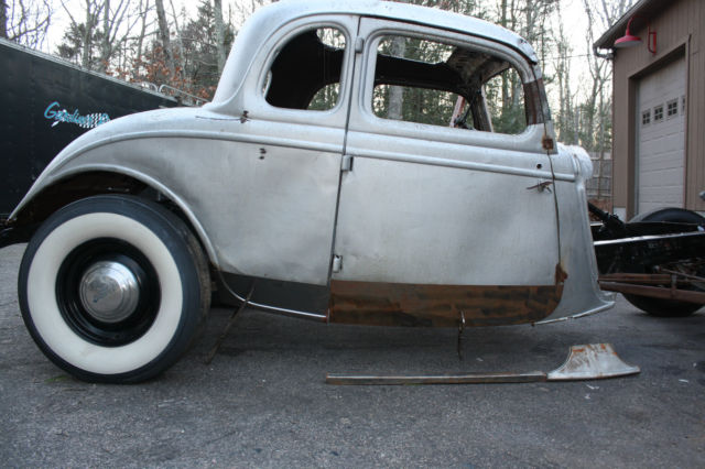 1934 Ford 5 Window Coupe Project Hot Rod Street Rod Not