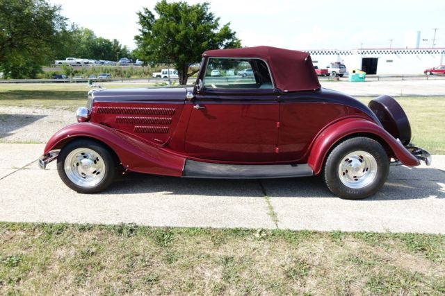1934 Ford Convertible Hotrod Streetrod Classic Ford