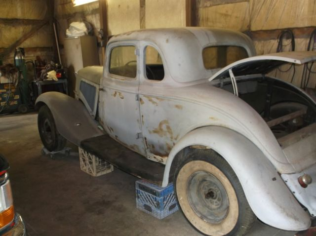 1934 ford coupe original all steel body classic ford for 1934 ford floor pan