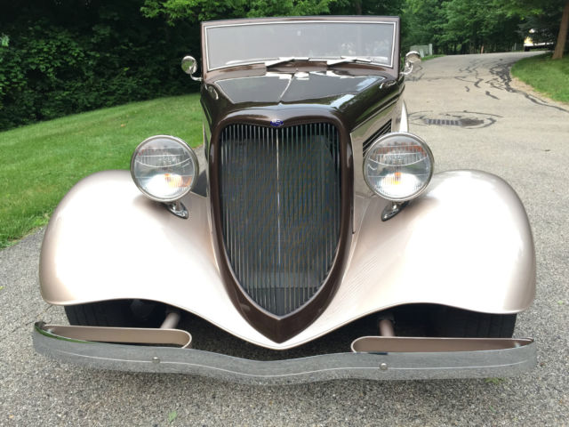 Kit Car With Rumble Seat