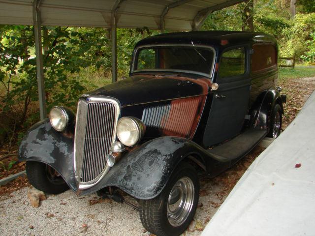 1934 Ford Sedan Delivery 80 S Hot Rod Street Rod Survivor