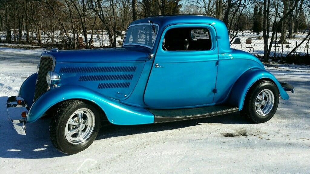 1934 ford three window coupe henry steel body period hot for 1934 three window coupe