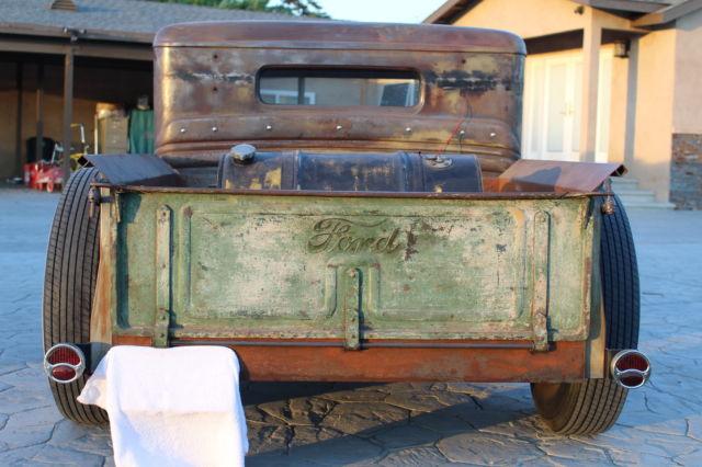 1934 Ford Truck Rat Rod Hot Rod With Bb 383 Mopar Tri Power
