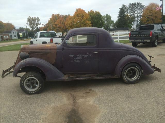 1934 Nash Lafayette 3 Window Coup Gasser Rat Rod 383 4bbl