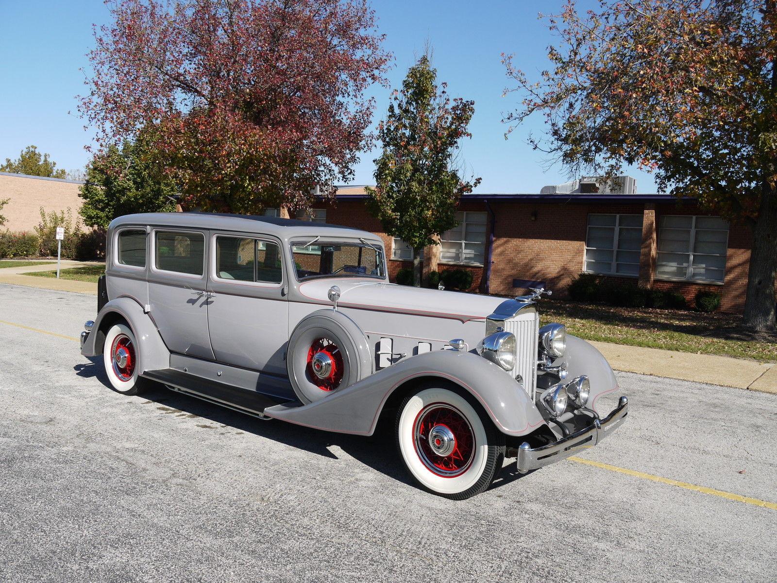 1934 Packard Super Eight 7 Passenger Sedan Classic
