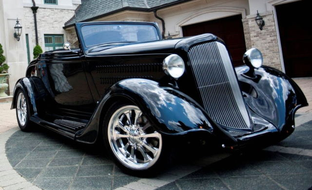 1934 Plymouth Cabaret Roadster Convertible Coupe 340 ...