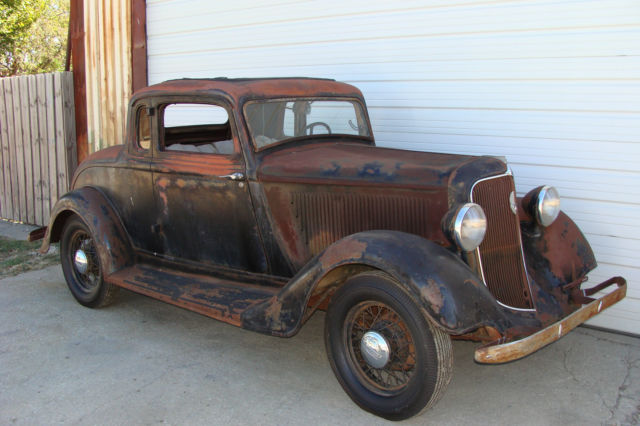 1934 PLYMOUTH PG COUPE. 5 WINDOW. PROJECT. FAST N LOUD ...
