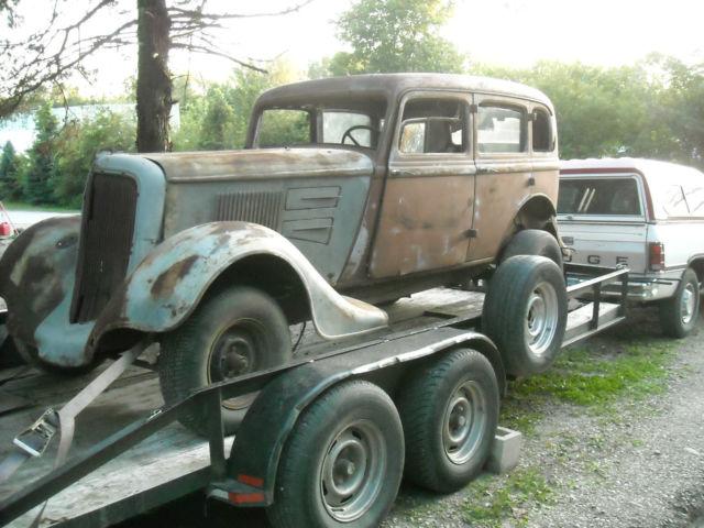 1934 Plymouth Sedan Sedan Delivery Rat Rod Barn Find Hot
