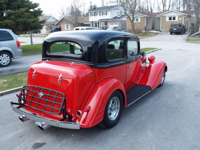 1934 pontiac 2 door sedan hotrod 350 chevy custom 1932 for 1932 chevy 4 door sedan