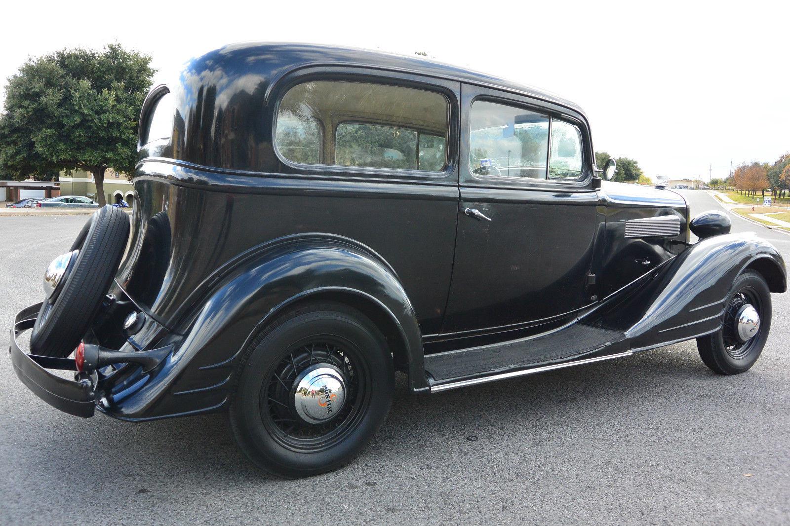 1934 pontiac 8 2d runs and drives great show winner