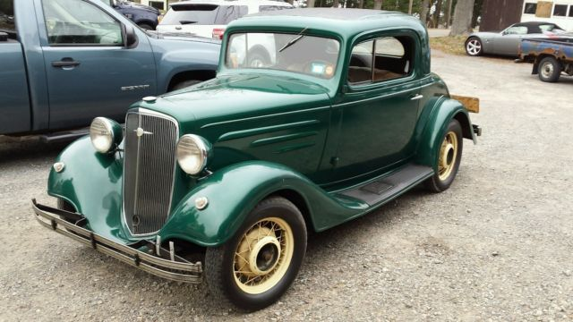 1935 Chevrolet Master Standard 3 Window Coupe - Classic