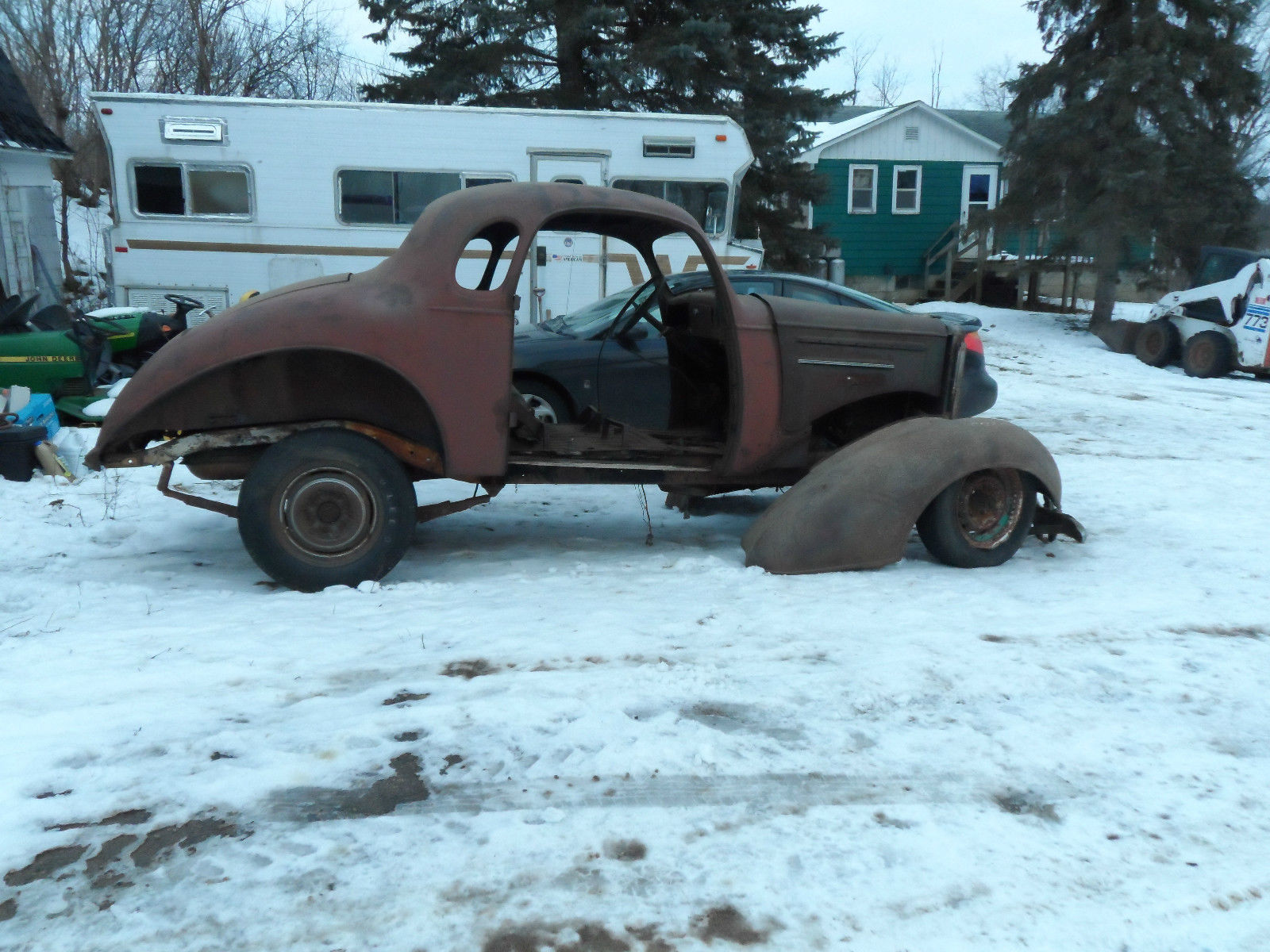 1935 Chevy 5 Window Coupe Very Rare With Suicide Doors