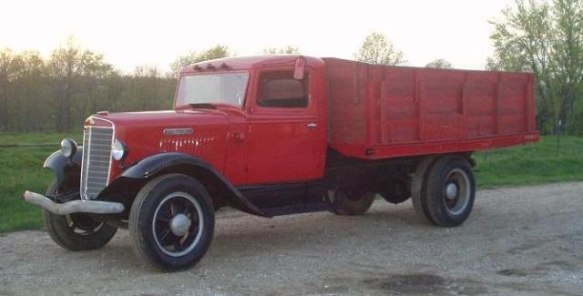 Image result for 1935 IH Truck