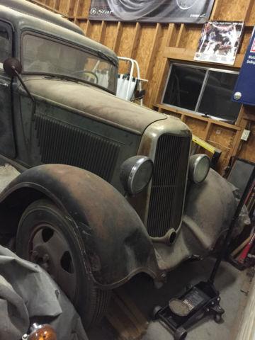 1935 Dodge Brothers Humpback Panel Truck 1.5 Ton Axle ...